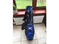 John Letters Golf Bag with St Andrews Flag coloured Blue/White/Black