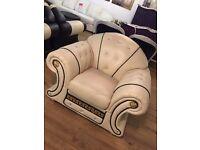 Versace Leather Armchair