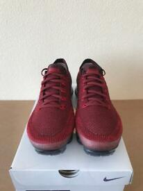 Nike Air Vapormax Flyknit Deep Red UK 10