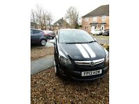 Vauxhall Corsa 1.2 i 16v SXi 3dr Black, White alloys and Stripes. Fantastic Condition