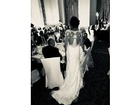 Ivory size 10 wedding dress