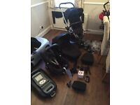 Quinny Buzz Xtra 3 in 1 Travel System and FamilyFix Base