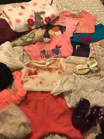 Girls clothes 1,5 - 2 Years . Bundle for 20£