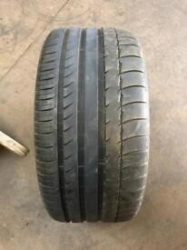 255 40 17(94Y) Michelin Pilot Sport 2 N3 Tread 5mm-6mm