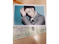 2 x Olly Murs, Sat 11 March at Sheffield Arena