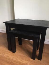 Nest of tables £5