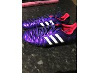 Adidas purple togs size 7