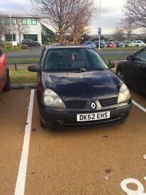 Renault Clio 1.2 £525