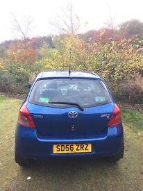 Excellent low mileage Toyota YARIS