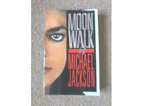 Michael Jackson MoonWalk Book
