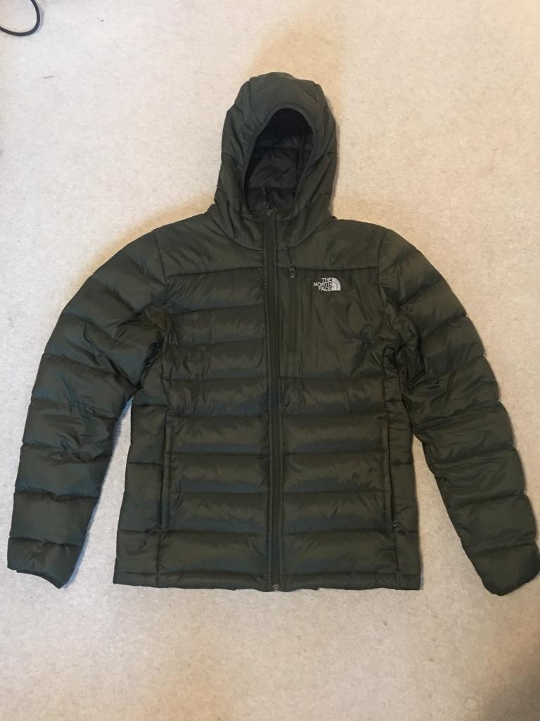 The North Face puffer coat   jacket 550 size medium  e5e168a4b