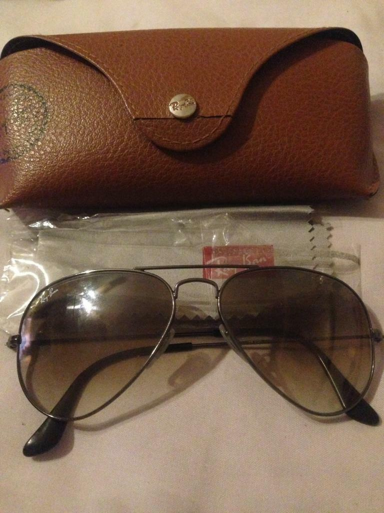 ray ban aviator sunglasses gumtree