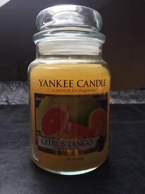 Citrus Tango Large Yankee Candle