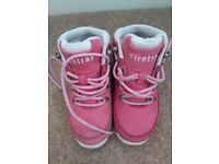 Girls infant Firetrap boots size 10