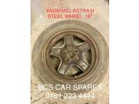 Vauxhall Astra shaped. Wheel. Inc. tyre.