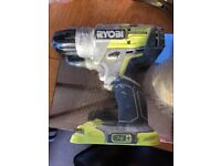 Ryobi R18PDBL One+ 18V Brushless Percussion Drill With 4ah battery and charger