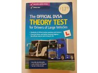 Theory Test Book, HGV, LGV, Lorry (The Official DVSA Theory Test book for Drivers of Large Vehicles)
