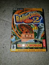 Rollercoaster tycoon 2 pc game