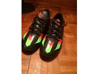 Adidas Messi 15.4 astroturf football boots, size 9, very new