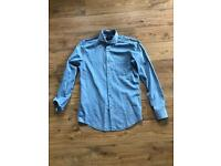 Light Blue Hugo Boss Shirt