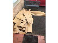 Free oak flooring