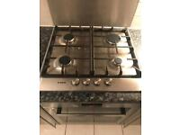 Bosch four burner gas hob