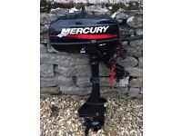 Mercury 3.3 HP 2 stroke outboard motor