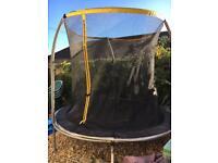 8ft trampoline £40