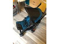 Silver Cross Pop 2 Stroller pram pushchair excellent condition