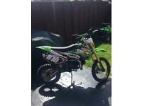125cc big wheel pit bike