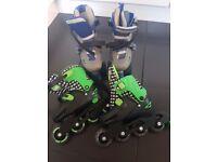 Roller blades and Rollerskates