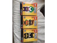 Lego brickhedz x3