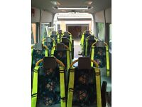 renault master mini bus SEATS and grab rails and safety shields**** OFFERS****