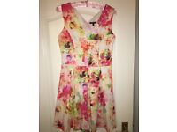 Women's floral occasion style dress