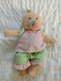 Soft doll with clothes and dummy