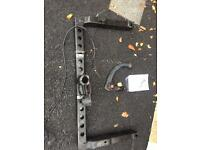 Audi A4 Avant detachable tow bar.