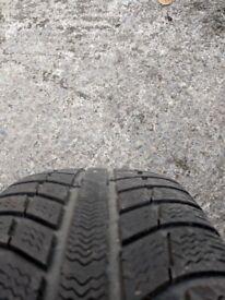 wheels and winter tyres MICHELINE PRIMACY ALPINE 215 55 16 ford mondeo focus jaguar snow rims tires