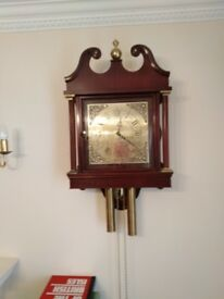 Wall mounted clock