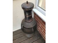 A Log / Wood Burning Chimnea