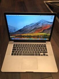 Apple MacBook Pro 15inch 512GB SSD with Apple care