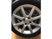 Honda Civic alloy wheels and tyres GENUINE 16 inch