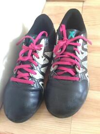 Adidas X Football shoes kids size 13