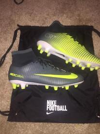 Brand new Nike CR7 Mercurial sock football boots. Size UK 7.5, Euro 40.5. £40