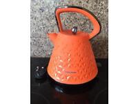 Morphy Richards Orange Prism Kettle
