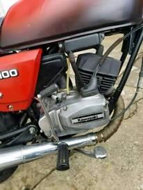 Kawasaki kh100 / Bajaj kb100 rtz