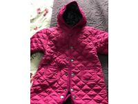 Jo jo maman bebe quilted snow suit 3-6months