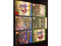 6 games £5 each (Xbox One , Xbox 360 and PS4)