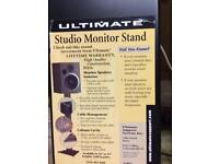 Studio monitor speakers stand
