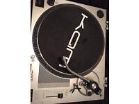 KAM DJ decks and mixer