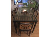 USED Dining table + 6chairs **FREE**